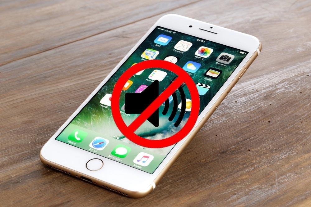 problème de son iphone